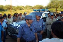 Corte Ruta 81 comunidades Wichí, Las Lomitas