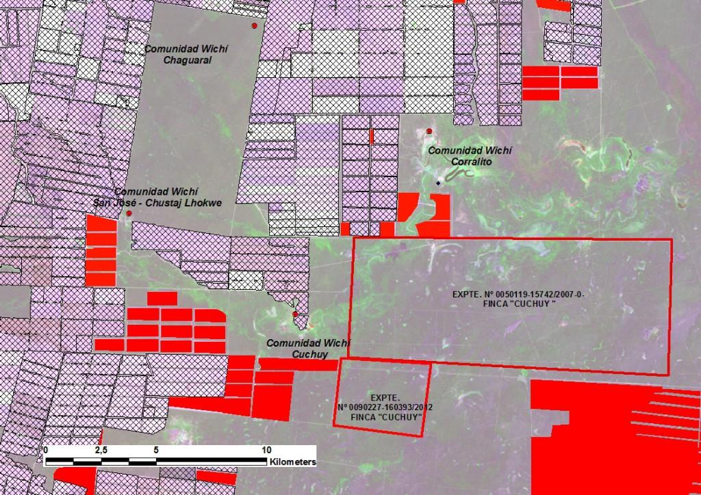 Mapa Propuestas Expedientes Cuchuy