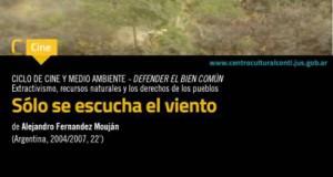 Participamos del Cierre del Ciclo Cine y Ambiente: C.C. Haroldo Conti e Instituto Gino Germani
