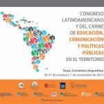 Congreso Latinoamericano y del Caribe de Educación, Comunicación y Políticas Públicas en el Territorio