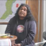 Ariel Navanquirí, coordinador general de la Organización de Comunidades Aborígenes de Santa Fe (OCASTAFE).