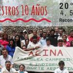 Se realizó en el norte de Santa Fe la 20ª Asamblea Campesina e Indígena del Norte Argentino (ACINA)