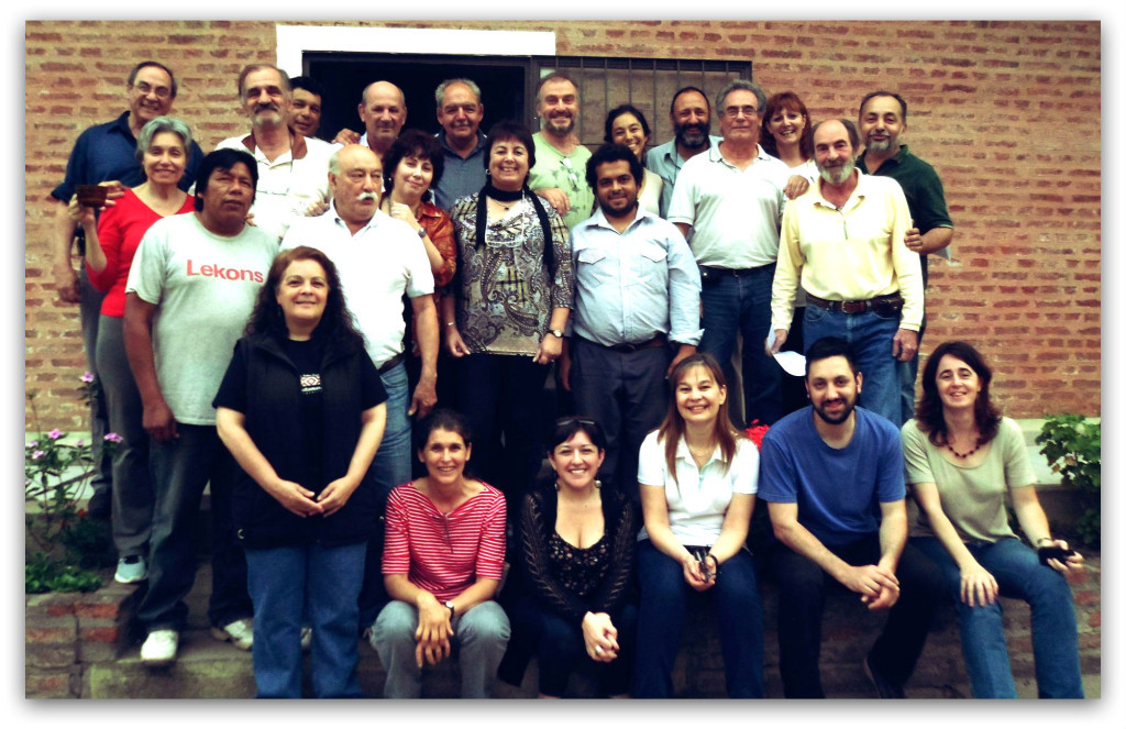 Socios de REDAF en la asamblea del año 2014.