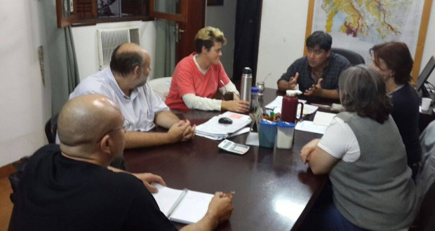 Socios de la REDAF se reúnen con titular de la Dirección de Bosques de Santiago del Estero