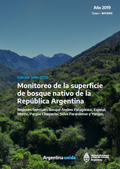 Monitoreo de la superficie de bosque nativo de la República Argentina. Tomo I. Año 2019. Inf